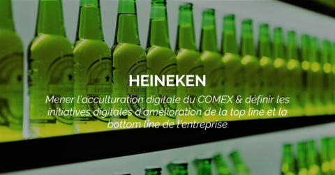 Success Story : HEINEKEN accélère sa transformation digitale