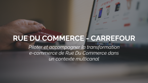 Success Story : CARREFOUR – RUE DU COMMERCE réussit sa transformation e-commerce avec SURICATS