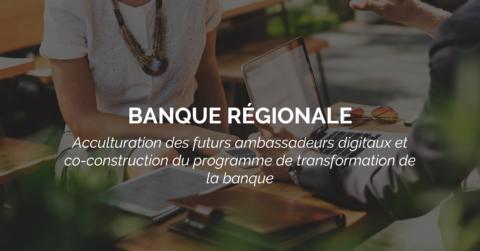 Success Story : création d'un collectif d'ambassadeurs digitaux pour transformer la banque