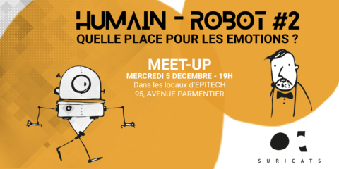 Relation Humain-Robot : Interview d'Anne-Marie Gaultier, Datakalab