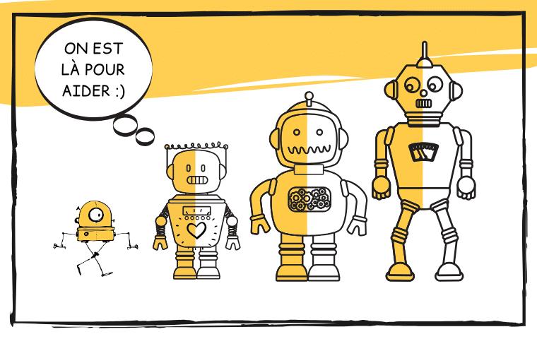 Cartoon - Robots : on est là pour aider !