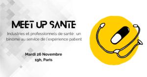 Organisation d'un meetup dédié à la santé par Suricats