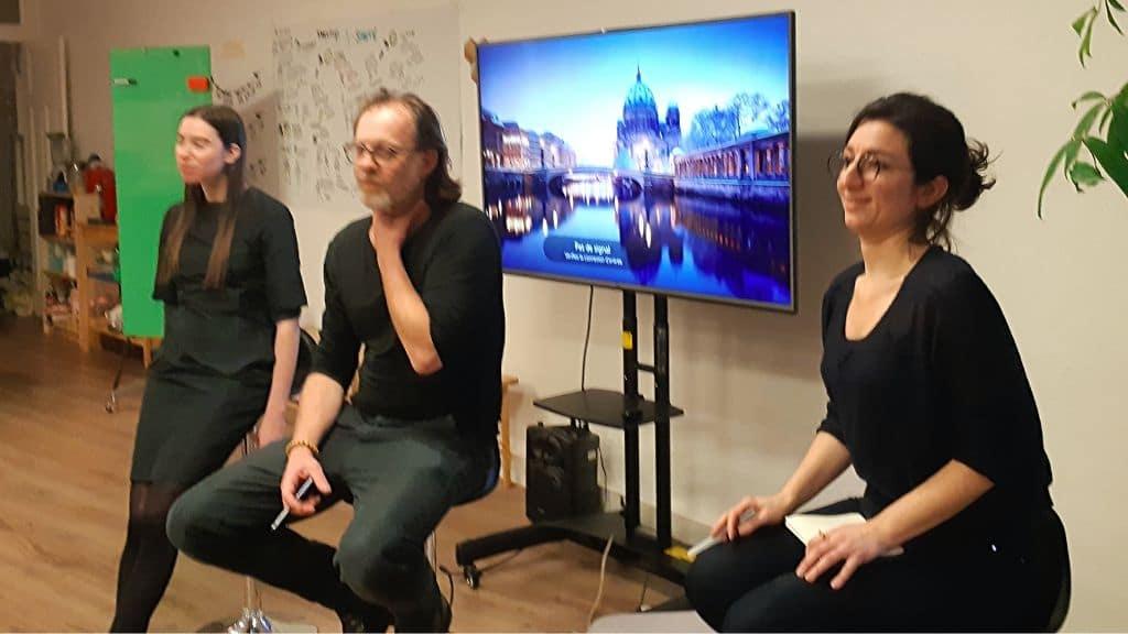 Marie-Sarah Adenis, Thierry Bardini & Delfina Fantini van Ditmar