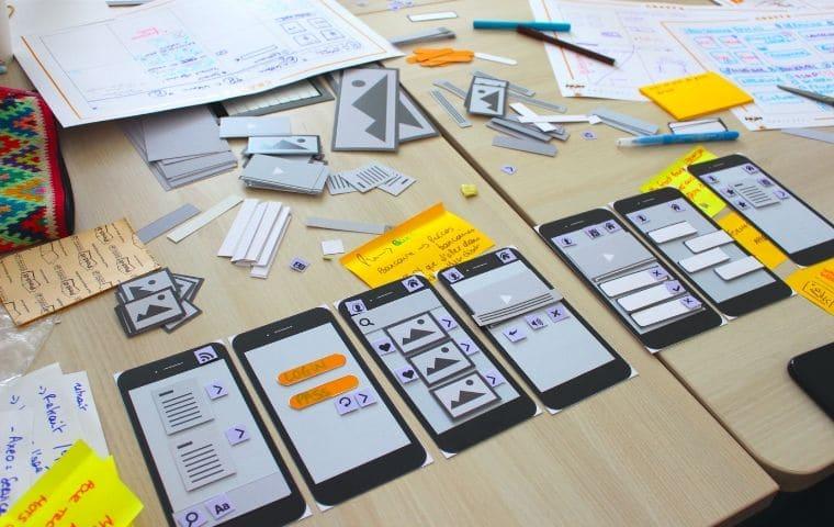 Exercice de prototypage suite à un Crazy 8