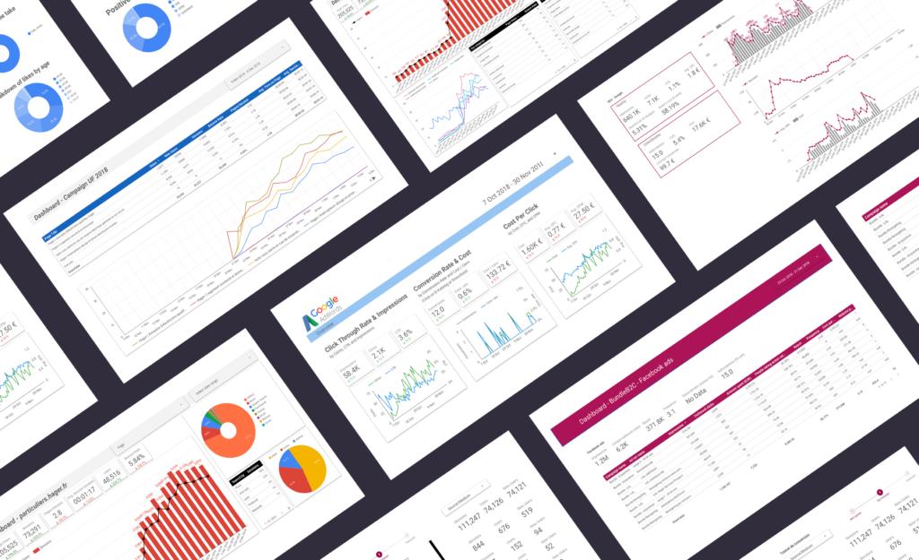 Dashboard Hager - marketing digital