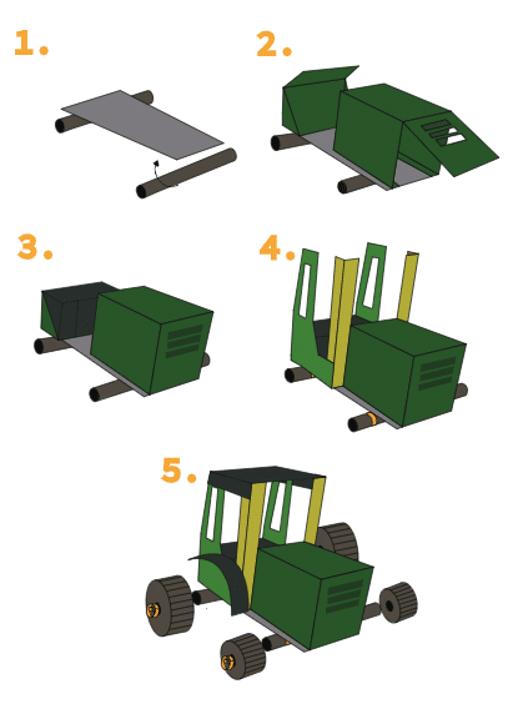 Tracteur agile