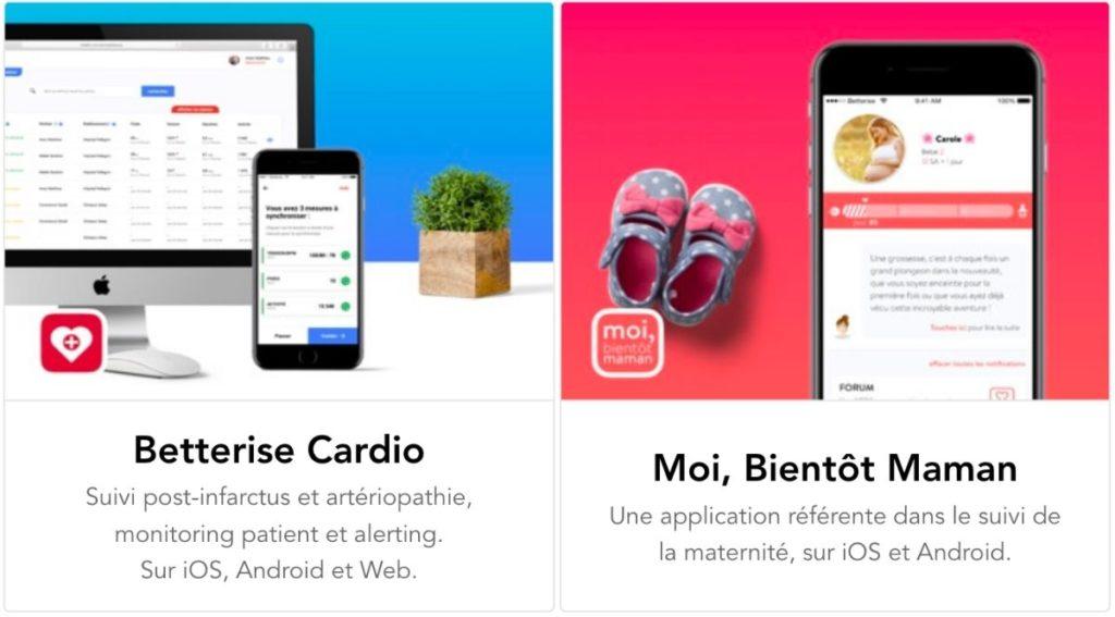 Betterise - Éducation thérapeutique - Digital et Santé - Cardio et Mamans