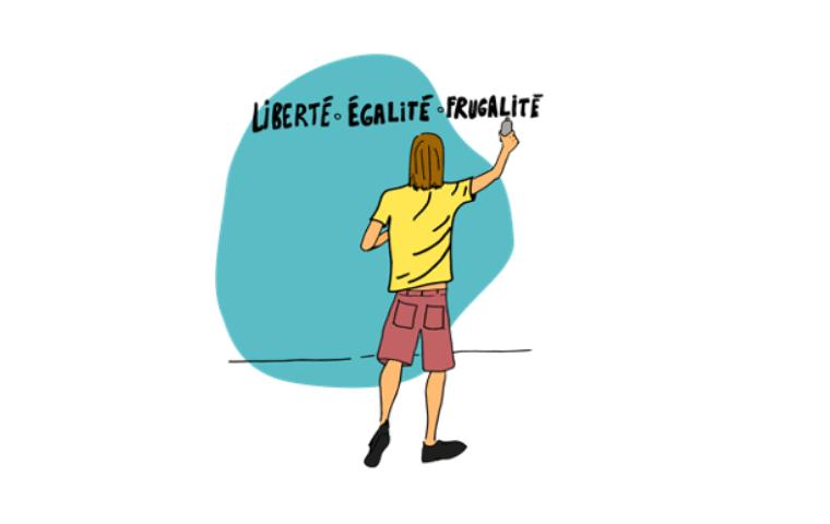 Illustration recit design fiction futur souhaitable consommation frugale 3