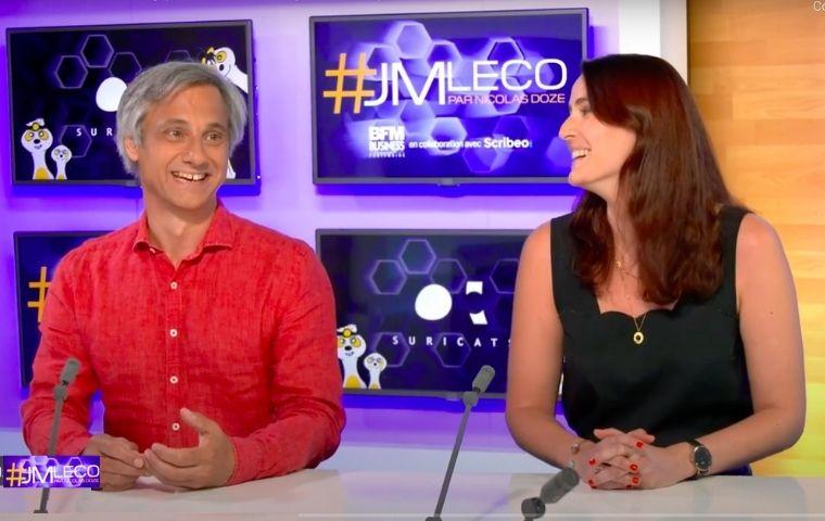 Margaux et Thierry Design Thinking BFM TV