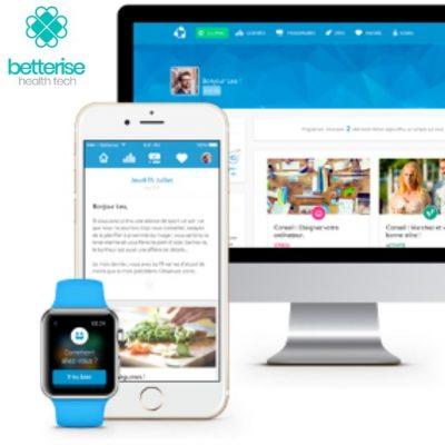 Betterise - Plateforme éducation thérapeutique digitale Santé